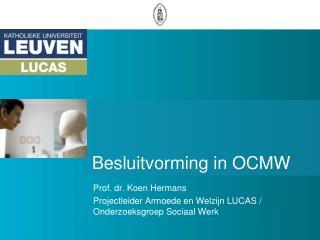 Besluitvorming in OCMW