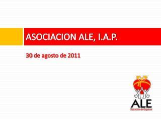 ASOCIACION ALE, I.A.P.