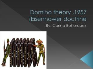 Domino theory ,1957 (Eisenhower doctrine