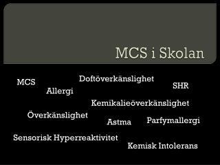 MCS i Skolan