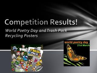 Competition Results!