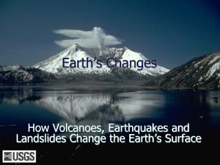 Earth s Changes