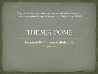 THE SEA DOME