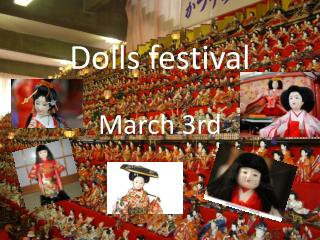 Dolls festival
