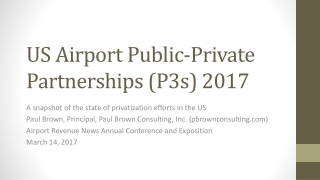 PRIVATIZATION OF CHICAGO MIDWAY AIRPORT:  AN OVERVIEW