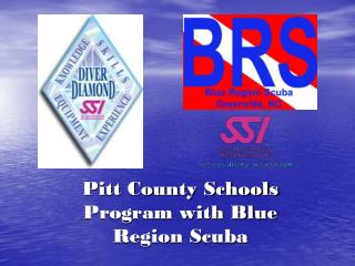 Pitt County Schools Program with Blue Region Scuba