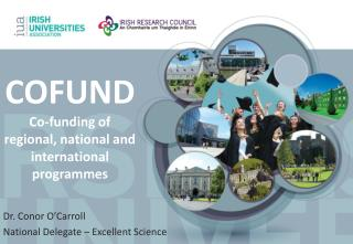COFUND Co-funding of regional, national and international programmes