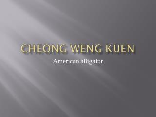 Cheong Weng kuen