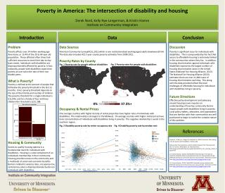 Poverty in America: The intersection of disability and housing