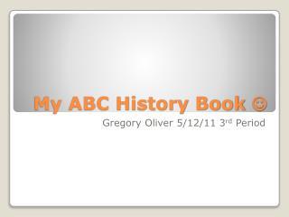 My ABC History Book  