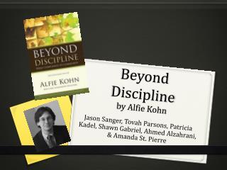 Beyond Discipline by  Alfie  Kohn