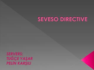 SEVESO DIRECTIVE