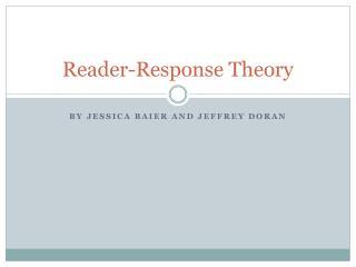 Reader-Response Theory
