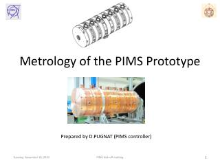 Metrology  of the PIMS Prototype