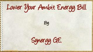 ppt 37980 Lower Your Ambit Energy Bill