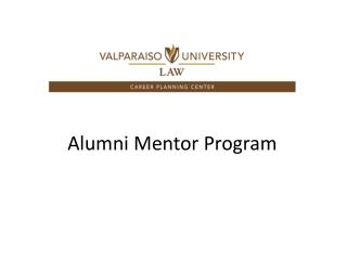 Alumni Mentor Program