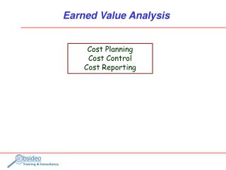 Earned Value Analysis