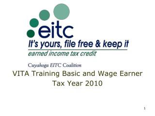 VITA Training Basic and Wage Earner Tax Year 2010