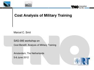 Cost Analysis of Military Training