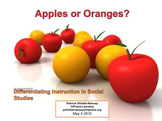 Apples or Oranges?