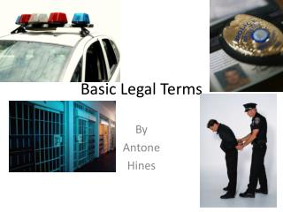 Basic Legal Terms