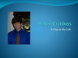 Peter Critikos