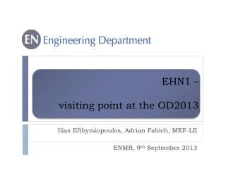 EHN1 –  visiting point at the OD2013