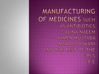 Antibiotics Introduction
