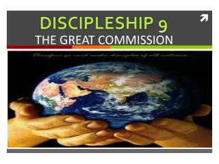 DISCIPLESHIP 9