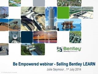 Be  Empowered webinar - Selling Bentley LEARN