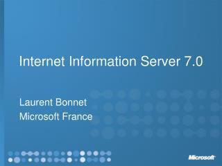Internet Information Server 7.0