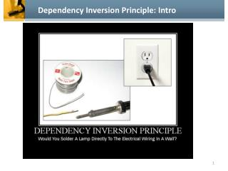 Dependency Inversion Principle: Intro