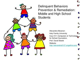 Delinquent Behaviors Prevention & Remediation: Middle and High School Students