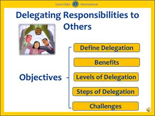Delegating Responsibilities to Others