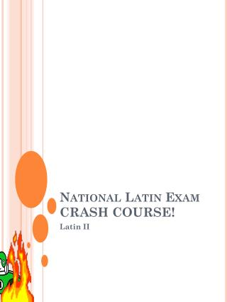 National Latin Exam CRASH COURSE!