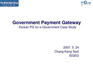Government Payment Gateway - Korean PG for e-Government Case Study