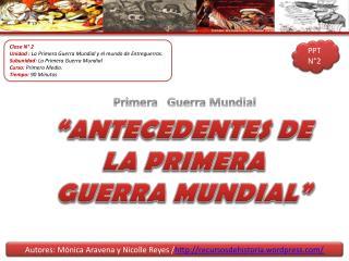 Autores: M�nica Aravena y Nicolle Reyes / recursosdehistoria.wordpress/