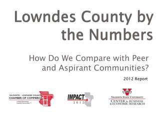 Lowndes County by the Numbers