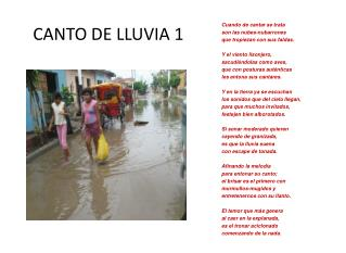 CANTO DE LLUVIA 1 UVIA