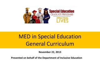 MED in Special Education General Curriculum