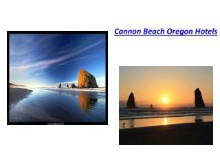 cannon beach oregon hotels