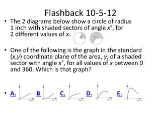 Flashback  10-5-12