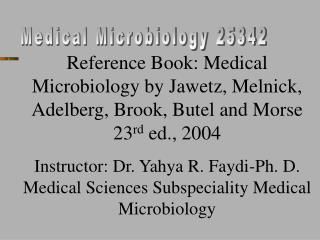 Medical Microbiology 25342