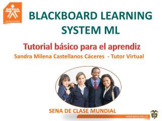BLACKBOARD LEARNING SYSTEM ML
