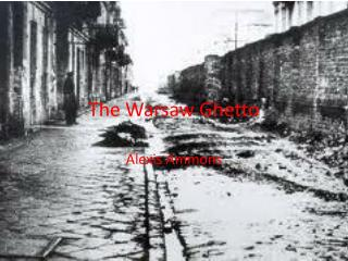 The Warsaw Ghetto