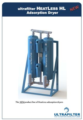 The  NEW product line of HeatLess adsorption dryers