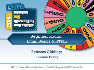 Beginner Round: Email Basics & HTML