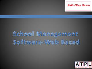 School Management  Software-Web Based