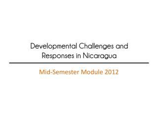 Mid-Semester Module 2012