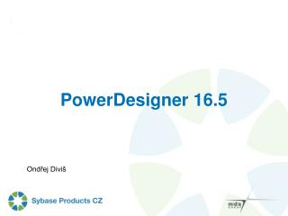 PowerDesigner 16.5